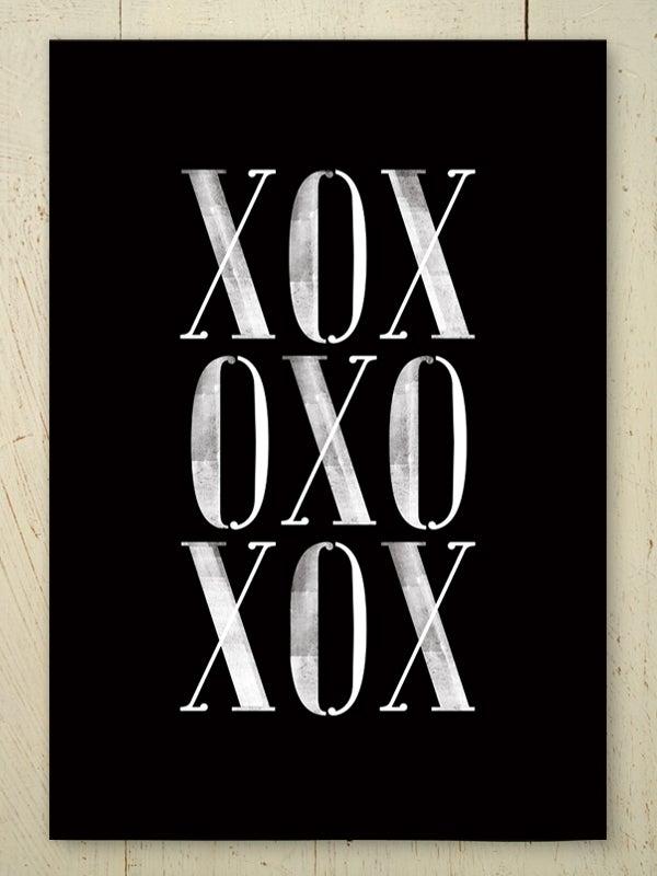 Image of XOX art print