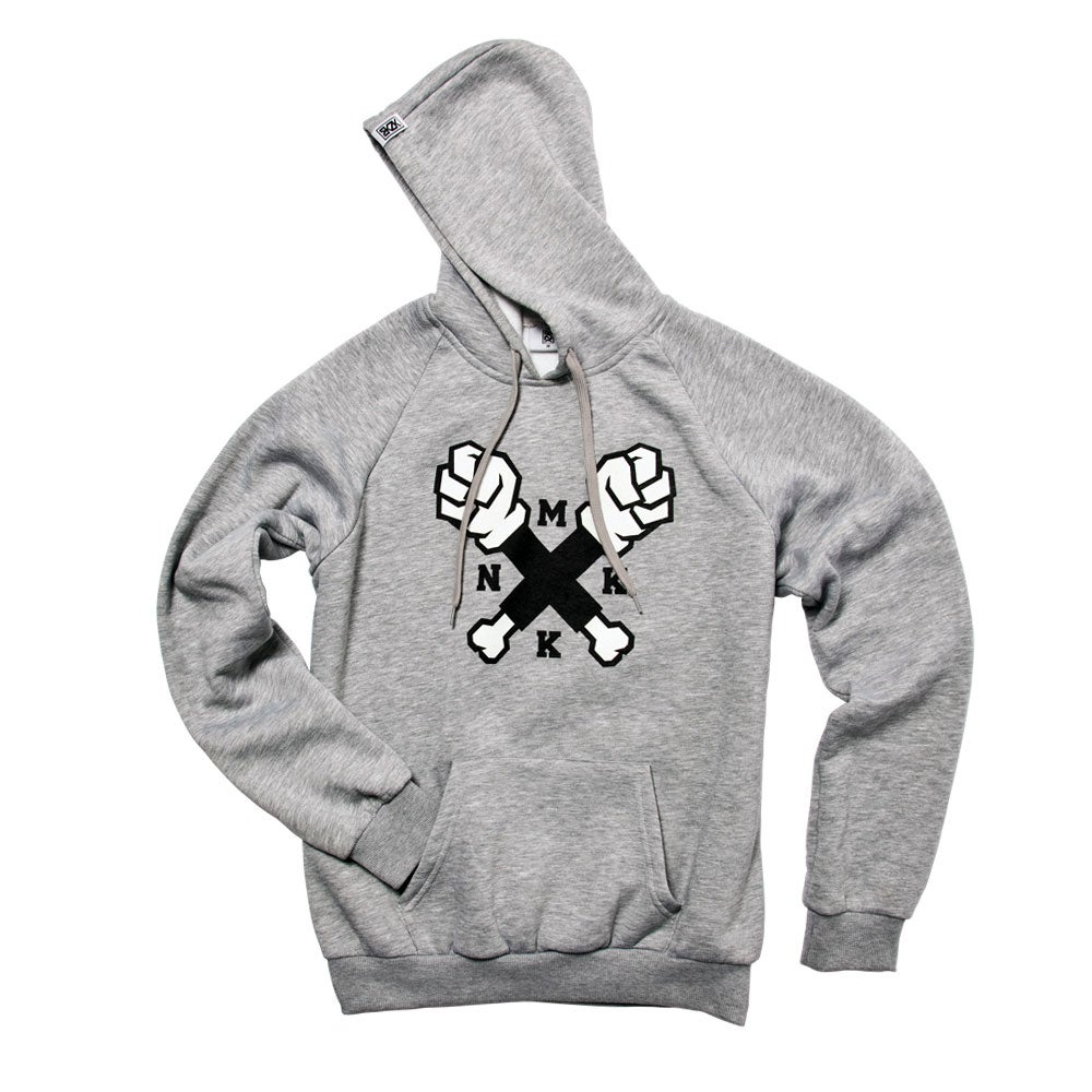 Image of Oldschool Hoodie Heather Grey