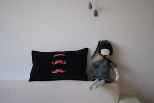 Image of Mister moustaches rose