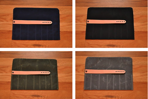 Image of TOOL ROLL-UP CASE - WAXED CANVAS