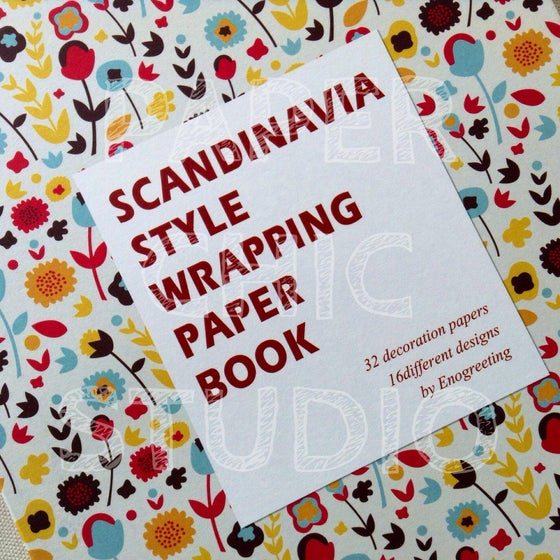 Image of Wrapping Paper | WP02 | SCANDANAVIA STYLE WRAPPING PAPER BOOK