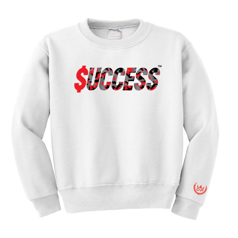 Image of $SUCCESS CAMO CREWNECK