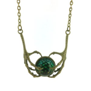 Image of Claw Pendant Necklace - More inside to choose from Brz