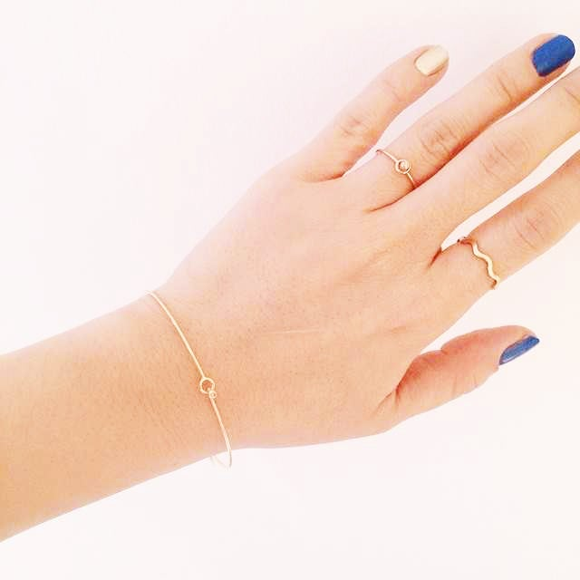 Image of Vasa Skinny Wave Ring