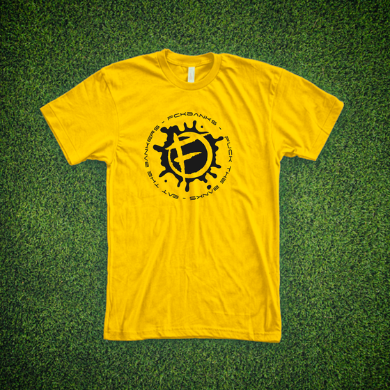 Image of The Dealcrusher Astonishing Yellow Tee