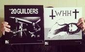 Image of 20 GUILDERS / WE HAVE HEAVEN split LP vinyl