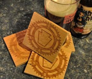 Image of Keystone Sprocket Coasters