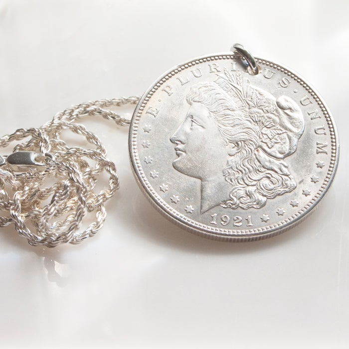 Image of Morgan Dollar Pendant