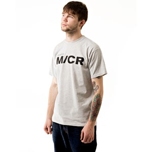 Image of Heather Grey M/CR Tee