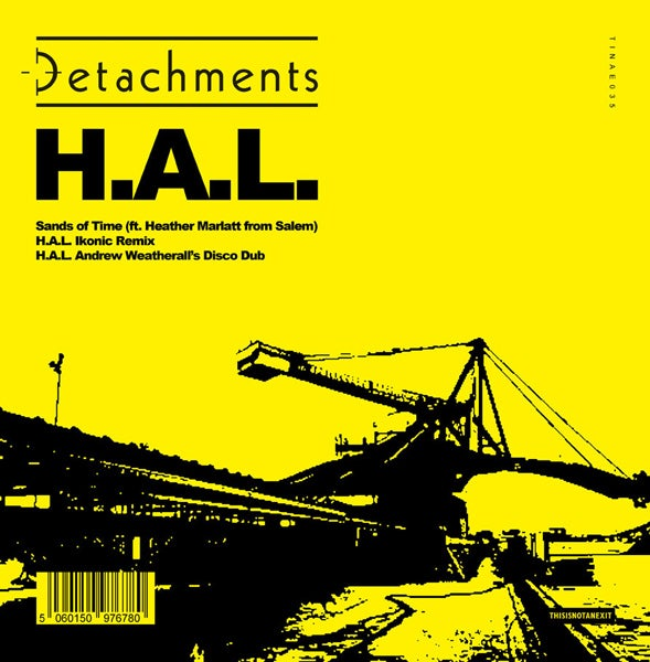 """Image of Detachments - H.A.L. Limited Screen Printed 12"""""""