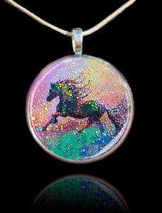 Image of Spirit Horse Visionary's Pendant - Find the answers you need