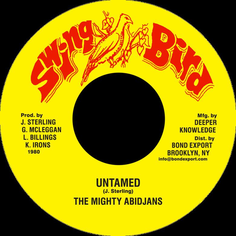 "Image of Mighty Abidjans - Untamed 7"" (Swing Bird)"