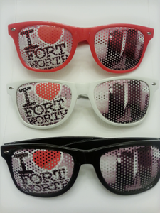 Image of I Love Fort Worth Sun Glasses