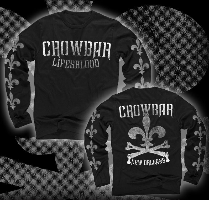 "Image of CROWBAR ""Lifesblood"" Long Sleeve T-shirt"