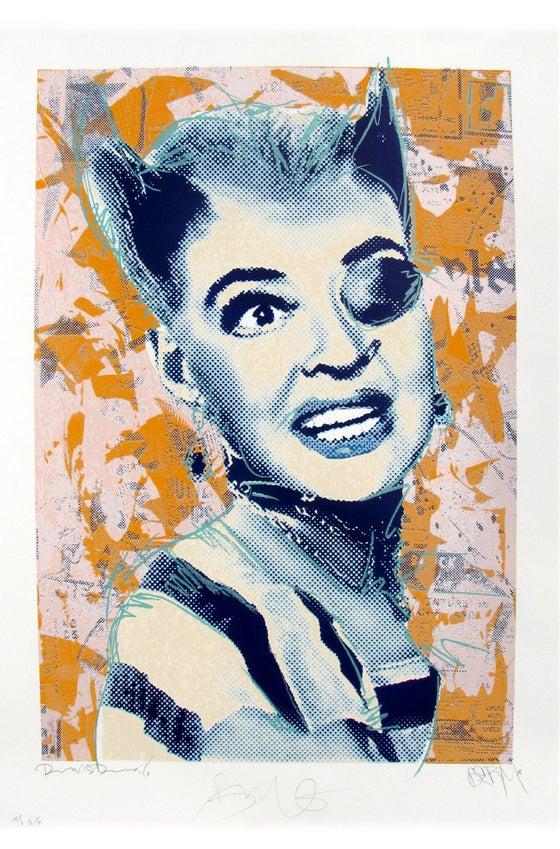 """Image of Punk Bette """"Blue Face"""""""