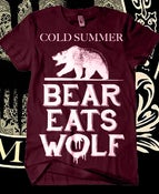 Image of Cold Summer - Bear Eats Wolf Shirt & Album Bundle