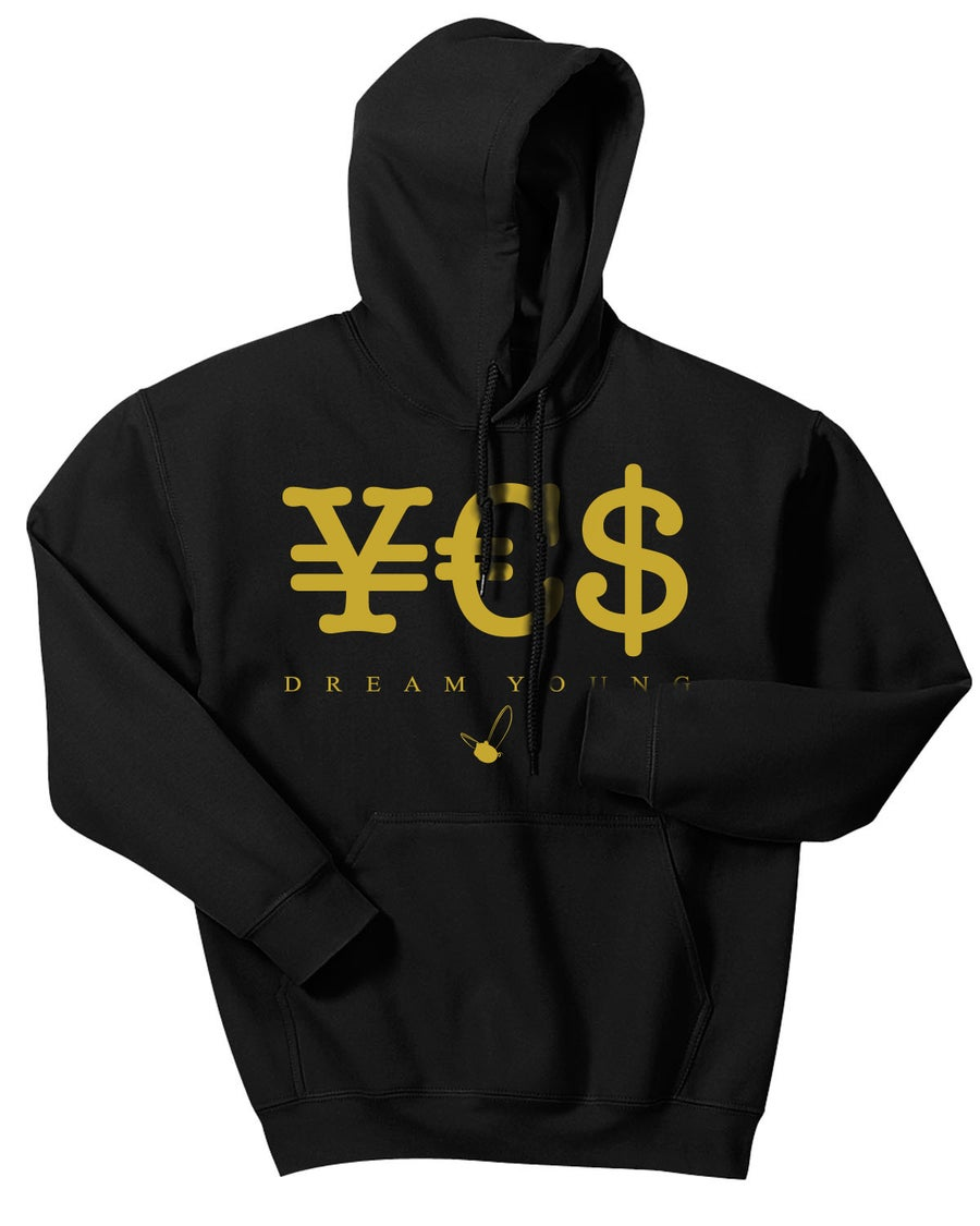 "Image of ""¥€$"" BLACK/HOODY"