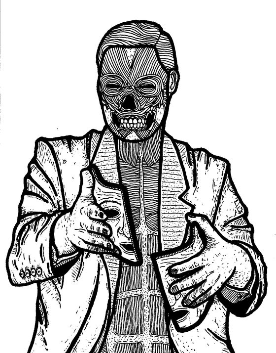 Image of flesh and bone -Ace Tagg mini retrospective