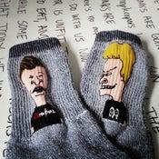 "Image of ""Beavis & Butt-Head"" Socks"