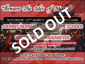 """Image of """"IDES OF MARCH"""" SYNTH EVENT - SAT 15TH MARCH 2014 - BIRMINGHAM"""