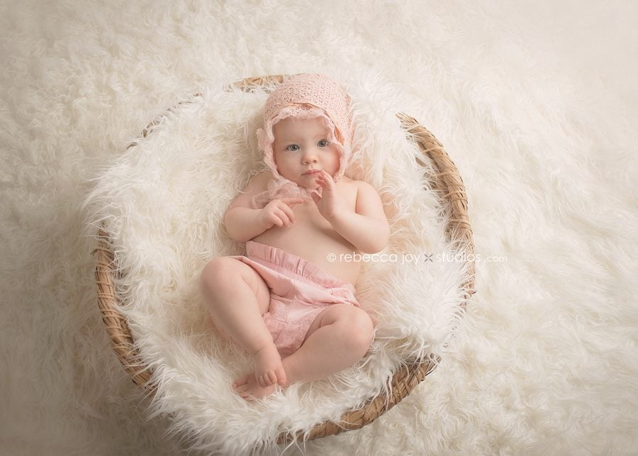Image of {Organics Collection} Vintage Bonnet | 1 Year Size