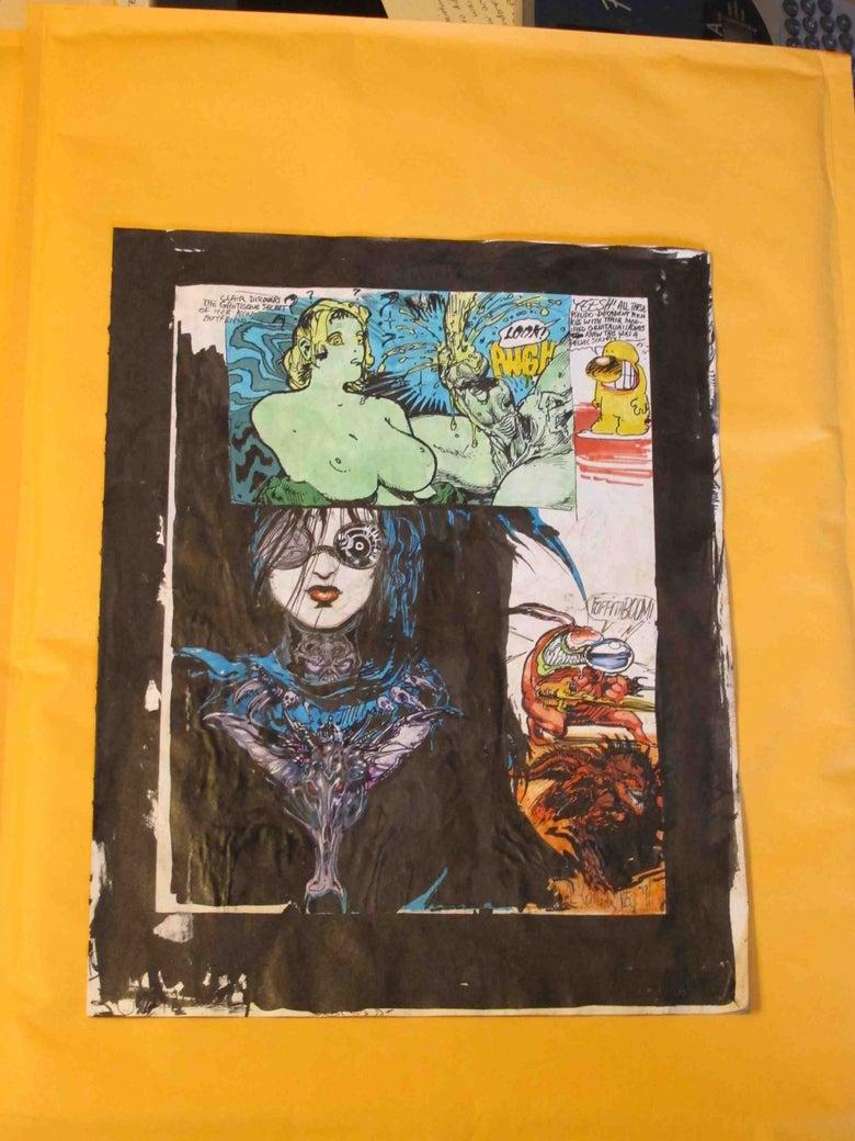 Image of Original Paul Komoda Sketchbook Pages - 4 pages