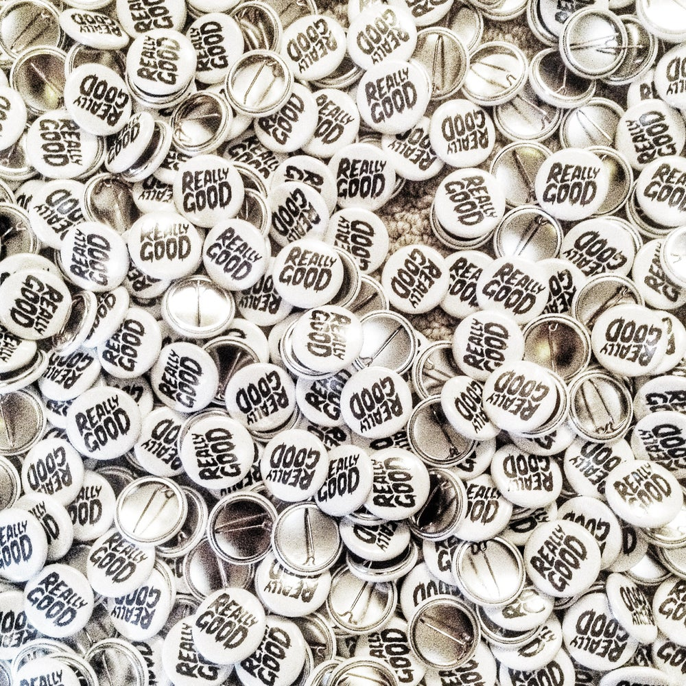 Image of Buttons - Pins - Really Good  x 5