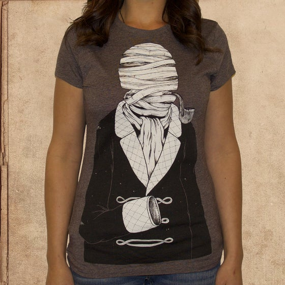Image of the Invisible Man - Girls - 65/35 - discharge ink