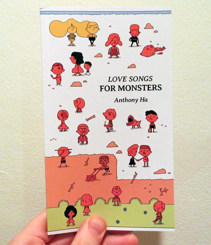 Image of Love Songs for Monsters by Anthony Ha