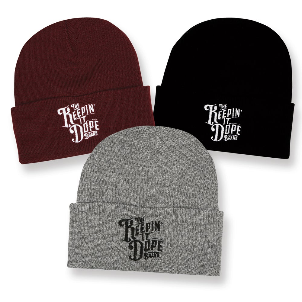 Image of The Keepin' It Dope Brand - Embroidered Beanie - 50% OFF!