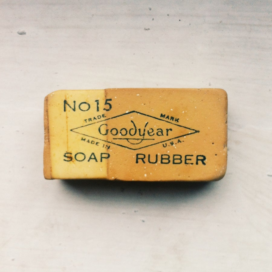 Image of 1950s Goodyear Eraser