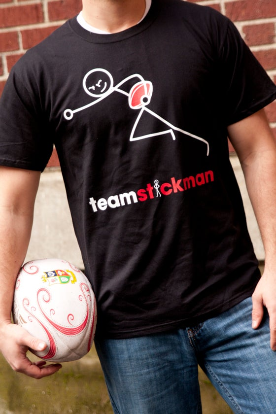 Image of Stickman Rugby T-Shirt