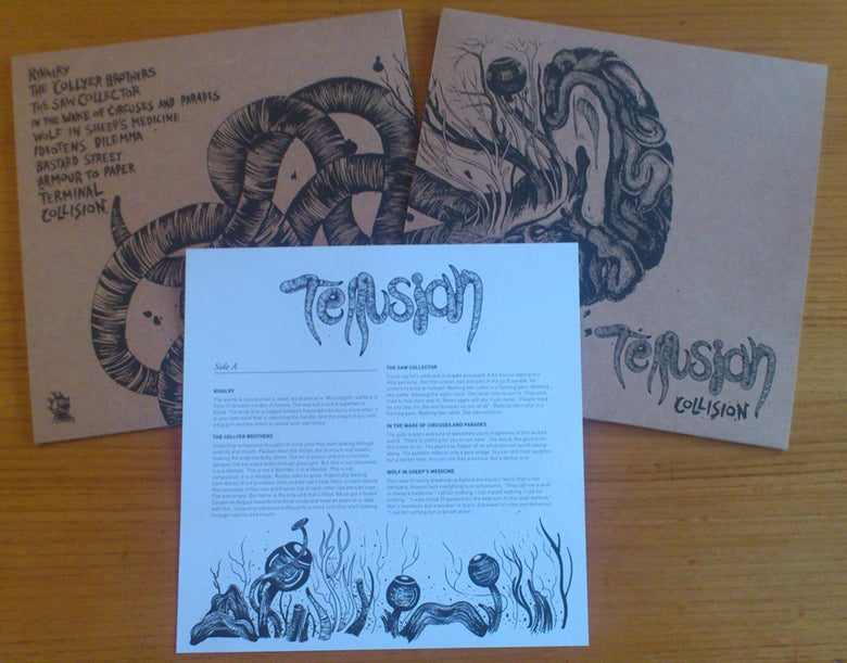 Image of Tellusian - Collision LP (+CD)