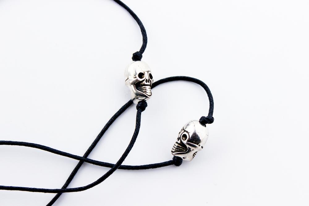 Image of ROCK-IT SKULLS Earpiece Holder Necklace