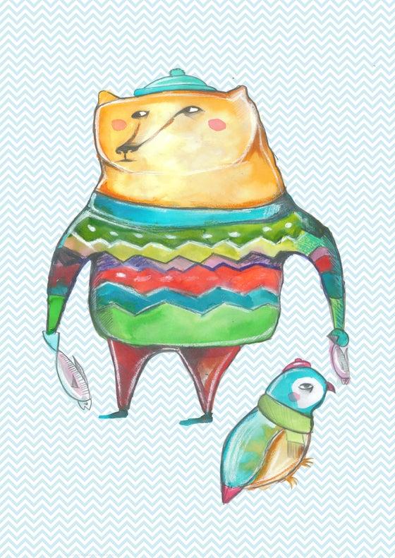 Image of Grafica orsetto per cameretta - sfondo personalizzabile