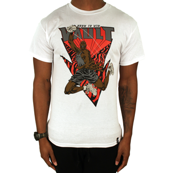 Image of Flight School Tee (White / Red)