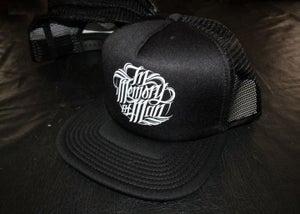 Image of In Memory of Man - Trucker Hat Logo