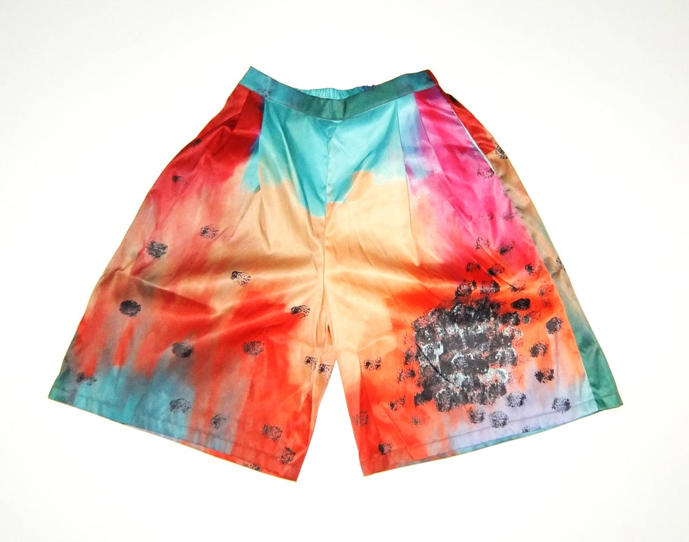 Image of Rainbow Loose Shorts