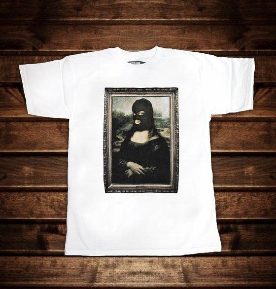 Image of Masked Mona (White)