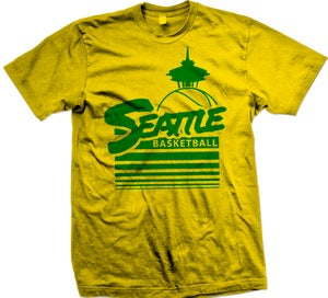 Image of Seattle City Shirt - Go Sonics