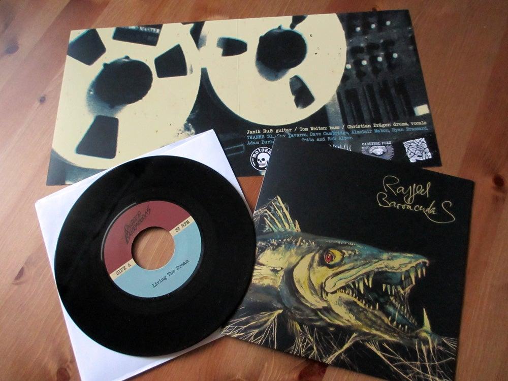 "Image of RAGGED BARRACUDAS - s/t 7"" Vinyl"