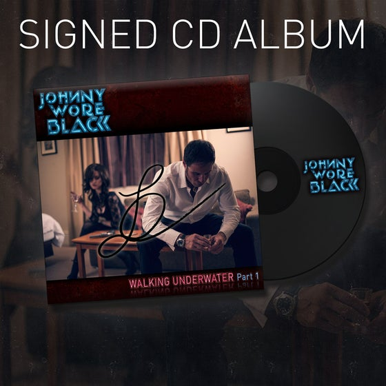 Image of Debut Album on CD signed by JWB and David Ellefson