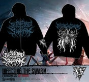Image of INFECTING THE SWARM - zip hoodie