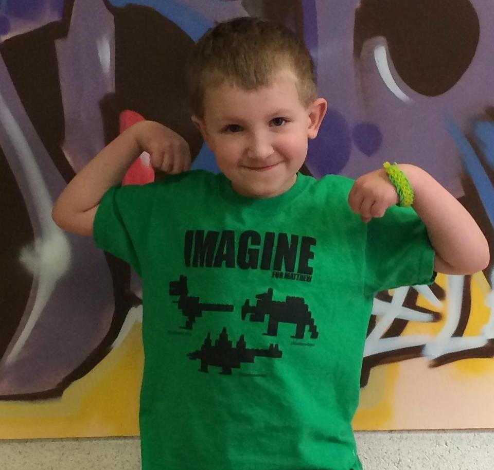 Image of Imagine For Matthew - Kids Tee