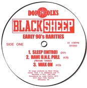 """Image of BLACK SHEEP (BLACK VINYL) """"EARLY 90's RARITIES"""" ***SOLD OUT***"""