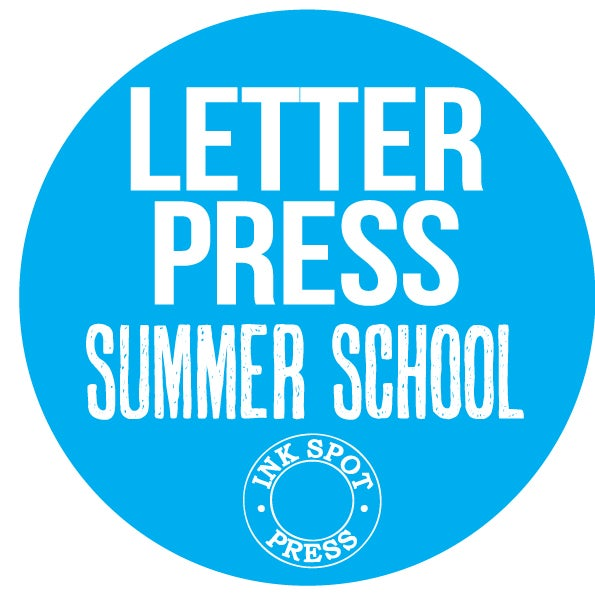 Image of LETTERPRESS SUMMER SCHOOL: 3 days. Mon. 11th. - Wed.13th. Sept. 2017 £ 240.00