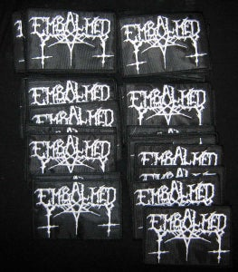 "Image of EMBALMED ""Logo embroidery patch"""