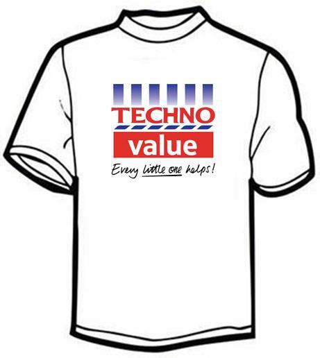 Image of Techno Value unisex t-shirt