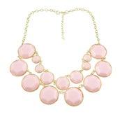 Image of Double Layer necklace: Light Pink