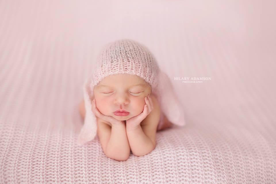 Image of Lace Bunny Bonnet